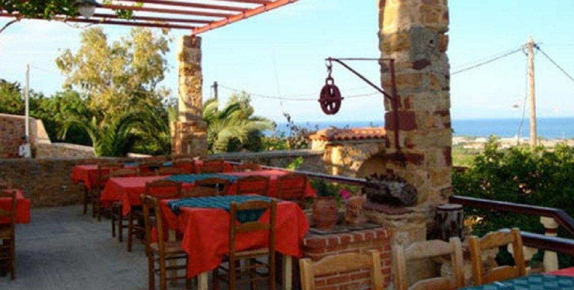 ΤΟ ΑΠΟΜΕΡΟ - εστιατόριο - ταβέρνα - ουζερί - Χίος