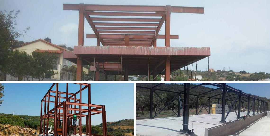 Βιομηχανικά Μεταλλικα Κτίρια - Μεταλικές κατασκευές - Χίος