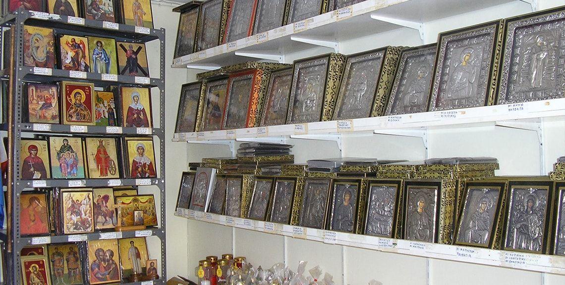 Θεόδωρος Καραβάς - Εκκλησιαστικά είδη - Χίος