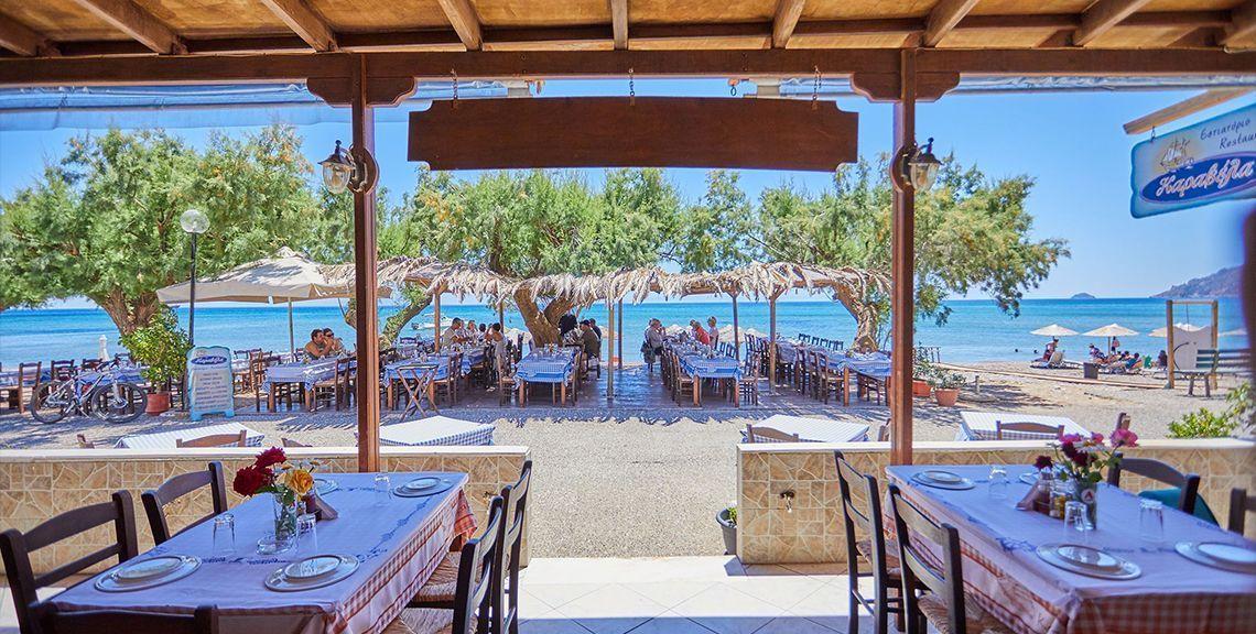 """Εστιατόριο """"Καραβέλα"""" - Κώμη - Χίος"""