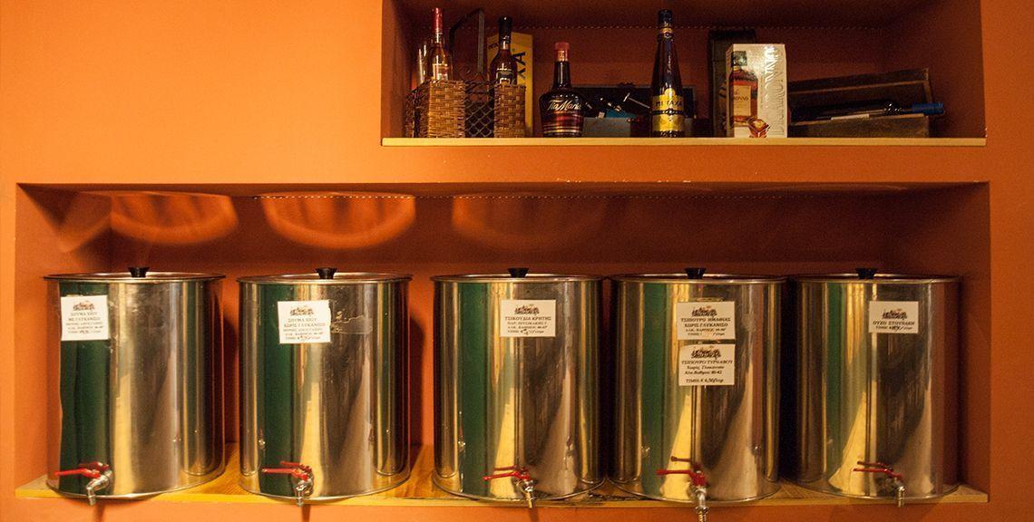 Κελλάρι βιολογικά και παραδοσιακά προϊόντα - Χίος