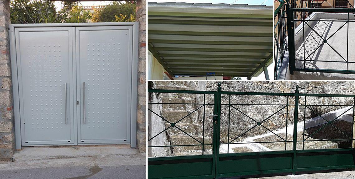 ΤΕΧΝΟΛΥΣΗ - Μεταλλικές κατασκευές - Βροντάδος - Χίος
